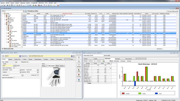 Wavesoft, logiciel ERP pour gestion commerciale et facturation