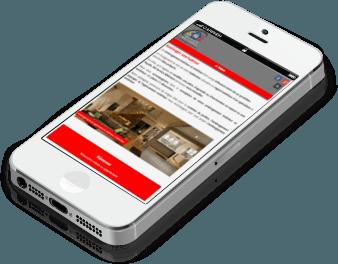 site responsive sur smartphone