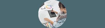 Webdesigner et création de charte graphique