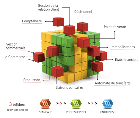 Wavesoft, logiciel ERP, logiciel gestion d'entreprise